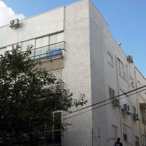 שיקום בניין משה הס 3 ברחובות